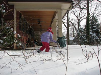[front yard santa]